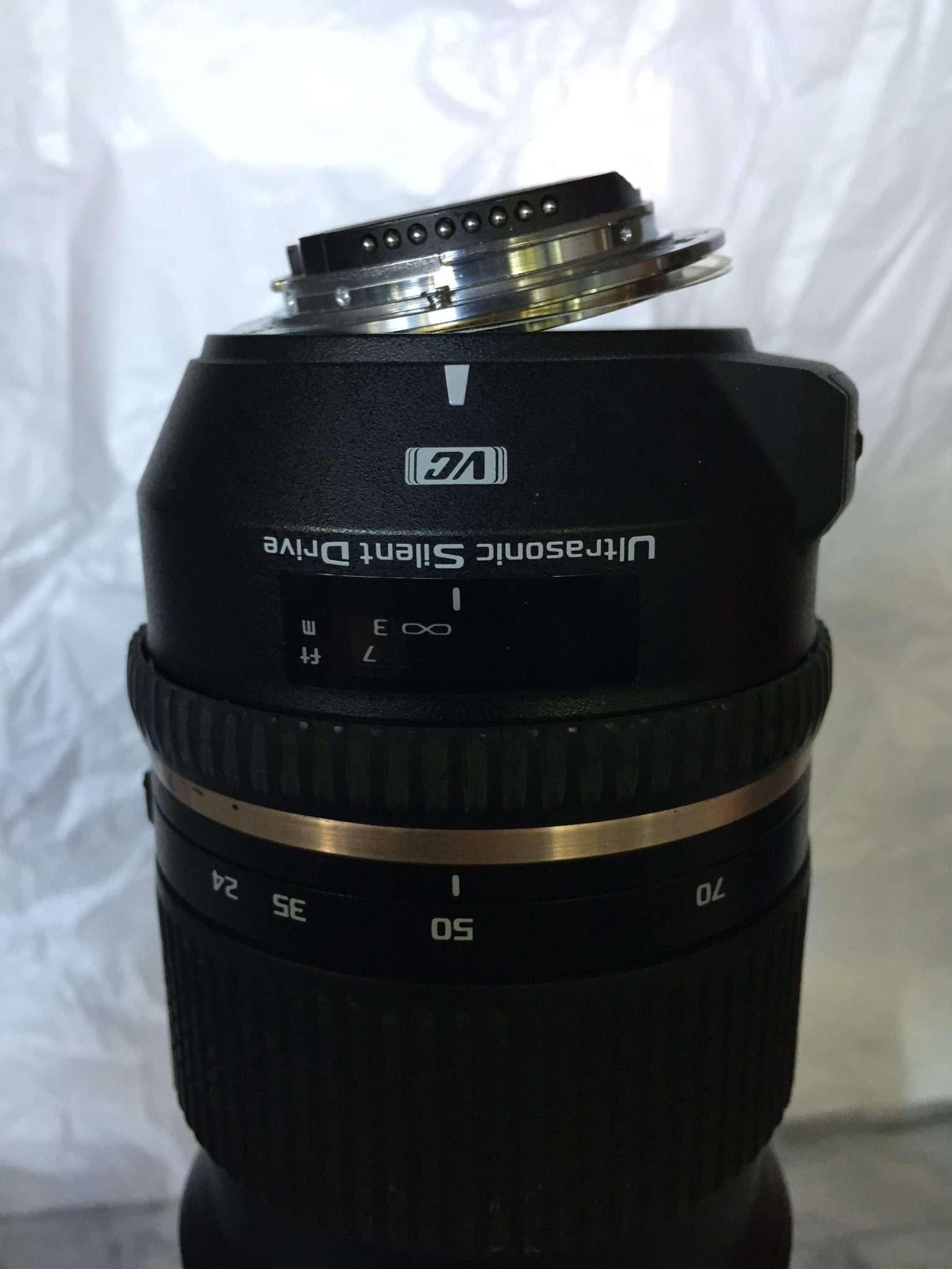 Sad, broken lens